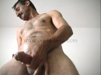 a naked turkish man with a big cock