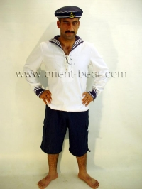 . In this turkish gay video he plays a sailor in uniform.