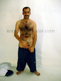 naked iranian Man in Uniform