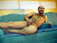 a horny hairy turk with a very stiff cock and a lot of pressure on the cumshot.
