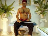Caylar - is an naked ottoman turkish Man