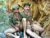 They play two turkish Soldiers who love each other.