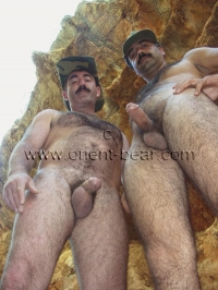 two sexy furry naked turkish Bears have fun in nature. this gay video is one of my best works.