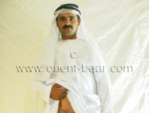 Arif - is a sexy turkish Bear as a Sheik from the Orient (id984)