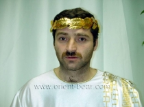 Rizvan - a Turkish Man as naked Cesar in a horny Turkish Gay Video (ID992)