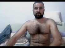 Timur - very hairy handsame turkish gay men with big ass show