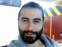 Emrah - is a very horny Turkish Kurdish Gay. His Body is hairy Brawny and B