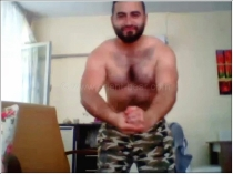 Emrah - is a very horny Turkish Kurdish Gay. His Body is Horny Hairy
