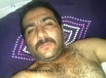 Murtaza - a strong hairy turkish man from the Orient with horny Coock