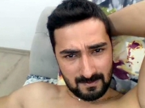 Mutluhan - is a handsome young Turk with a beautiful long Cock