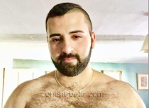 casting photo -Apo- a young Turkish bear with a sexy hairy body.