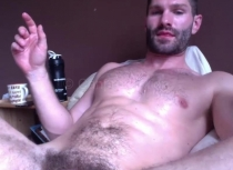 Halim - is a Syrian Man with a lot of Pressure during Orgasm  (id1393)