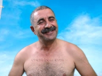 Hasret - is a horny young Turkish Bear with a hot Orgasm. (id1421)