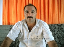Abbas - hairy Turkish bear shoot his sperm with a lot of pressure. (id107)