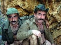 Sefer and Ali S. two turkish soldiers fuck naked in the mountains. (id817)
