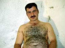Fatih - a hairy naked turkish bear with a hot thick cock. (id231)