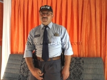 Ercan - is a Turkish Daddy with a hot stiff Cock in Uniform (ID275)