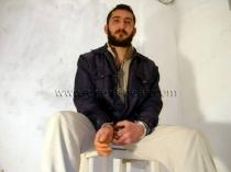 Mert - naked kurdish Worker with fat Cock in Kurdish Gay Video. (id284)
