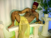 CELAL - a HAiRY TURK with an absolutely perfect Body (ID185)