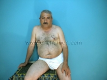 Hayder - a turkish older man with big fat cock and a big cock head. (id547)