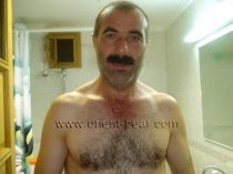 Alican - a strong naked hairy turkish bear with a huge cock. (id582)