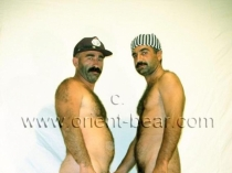 Hueseyin and Ali S. - two very hairy turks fucking together. (id341)