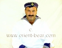 Burak - a  Naked Turkish Sailor with hairy Body and shaved Cock. (id393)