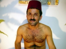 Settar - a hairy naked turkish farmer with a big cock in gay video. (id664)