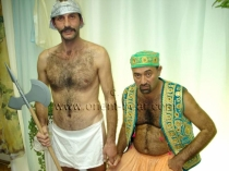 Pala and Orhan a Hairy Turk fucks a Turkish Bear in his hairy Ass (ID770)