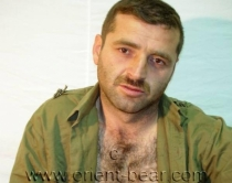 Rizvan - a horny naked turkish soldier with an intense orgasm. (id888)