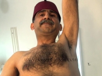Haluk - a naked kurdish man is hairy as a monkey shows his ass in doggy style. (id1000)