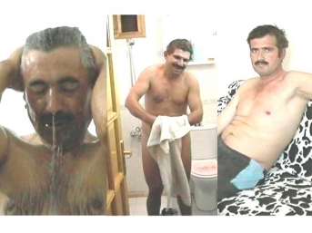 Shower-video-2 - three different nude turkish men can be seen and all show their bodies from all sides. (id1009)