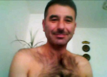 Kabil - very hairy handsome turkish guy with a super hairy chest