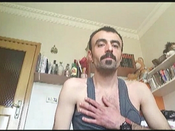 Feza - a large well-built Turkish Man from the Orient with a Monster Cock