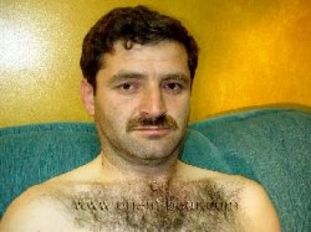 Rizvan - a young hairy turkish man with an intense orgasm and a lot of sperm. (id120)