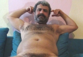 Selahattin - is a sexy hairy turkish man with a erotic face, a big turkish cock in a turkish gay video. (id1348)