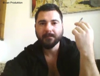 Vicdan - a Romanian Turk with a hot Face and he likes to play with his Cock