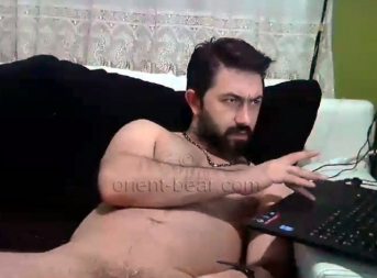 Guenay - is an always horny young Turkish Man with a long, thin Cock...
