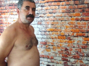Hasret - a young naked turkish Bear in a turk