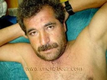 Berdan- a young turkish bear with a lot of cum masturbates naked on the sofa. (id147)