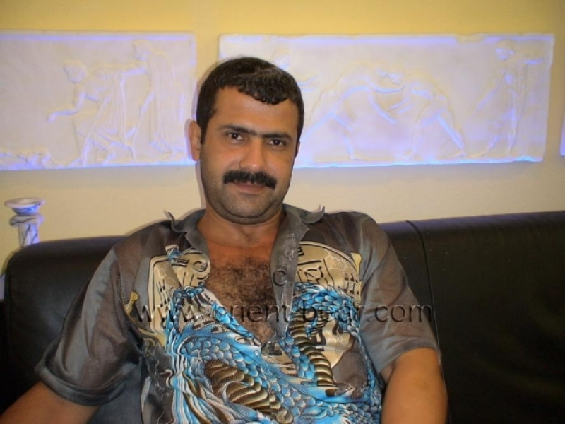 Selahattin - a horny Turk with a big Cock and a sexy hairy Body (ID148)