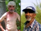 Mobil-101 - two older bulgarian turkish farmers jerk off each other on the field...
