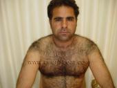 Osman B. - is an original turkish furry bear with fur as body hair in a turkish gay video. (id1536)