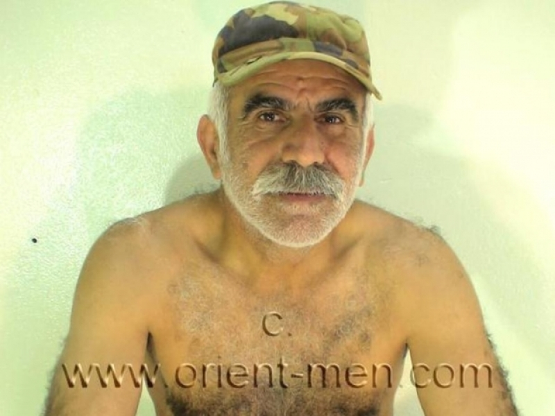 Ibrahim M. is a turkish silver daddy with an fully hairy ass in a turkish gay video. (id180)
