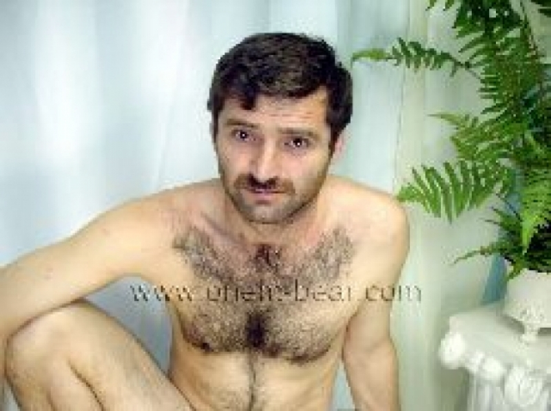 Rizvan - a horny Turk with dark blond Hair and Cool Hairy Chest and Asshole