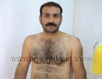 Fevzi M. - a naked very hairy kurdish man with a monster cock and two big balls in a kurdish gay video. (id266)