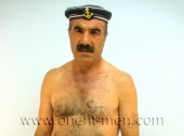 Alican - an naked older turkish bear with a monster big cock and big balls can be seen in a hot turkish gay video. (id269)