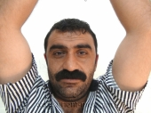 Tufan - an horny Kurdish Man in Handcuffs with a very stiff Cock. (id346)
