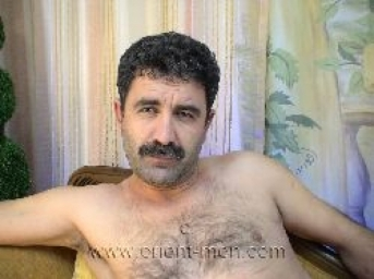 Hasret - a erotic naked kurdish man with a stiff cock and an intense hot cumshot in a turkish gay video. (id377)