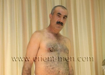 Alican - a naked turkish construction worker with a monster big cock and big balls in a turkish gay video. (id44)